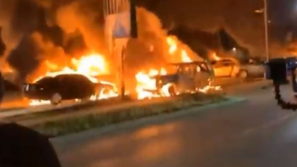 Wisconsin Rioters Loot And Burn Down Car Dealership
