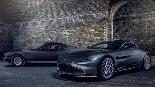 Aston Martin Trots Out More James Bond Special Edition Cars