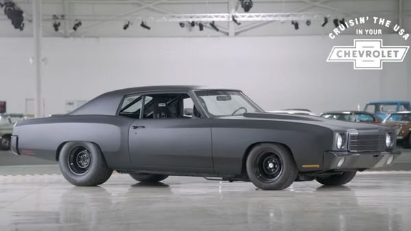 1970 Monte Carlo Proves Chevy Employees Own Cool Cars