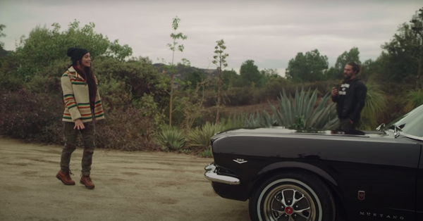 Jason Momoa Surprises Wife By Restoring Her 1965 Ford Mustang