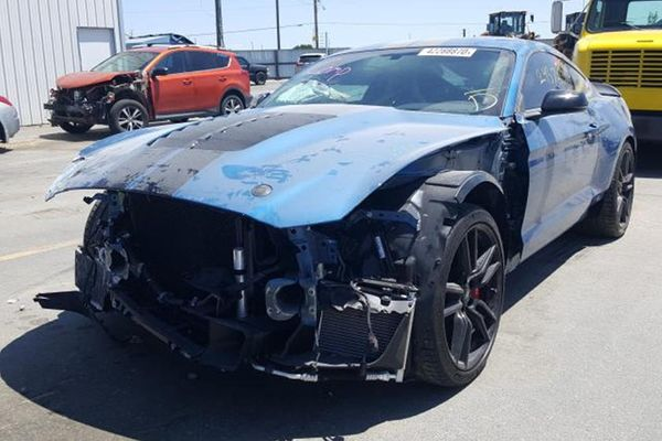 Are You Shocked That Someone Already Wrecked A New 2020 Shelby GT500?