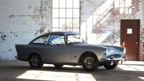 Rare 1961 Sunbeam Alpine Crosses The Auction Block