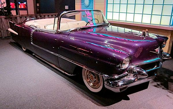 Only Grapes For The King in Elvis Presley's Purple 1956 Cadillac