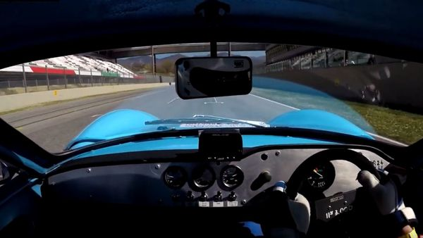 Ginetta G12 Struts Its Stuff On The Track