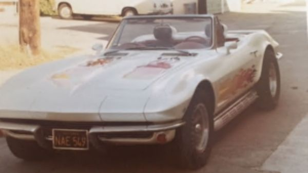 Heartless Thieves Steal 1963 Corvette Convertible