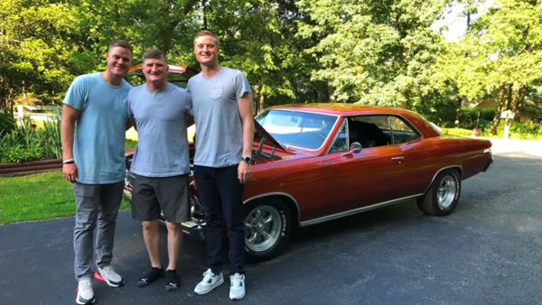 Sons Work Together To Buy Their Dad A 1966 Chevelle