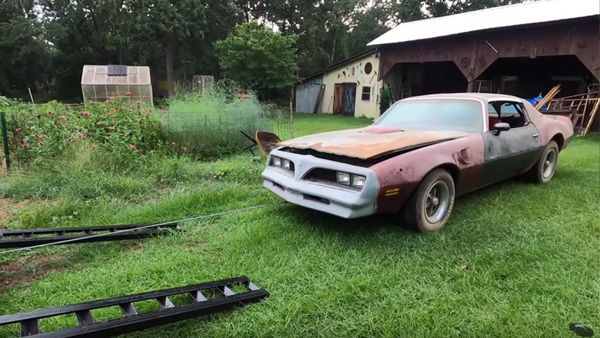Neglected Pair Of Barn Find Pontiac Trans Ams Rescued After 30 Years