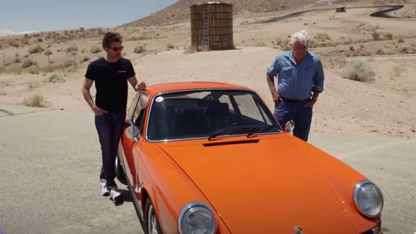 Jay Leno And Patrick Dempsey Drive A 1973 Porsche 911 Carrera RS 2.7