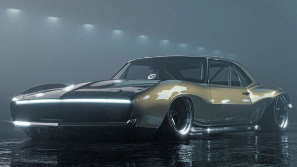 Artist Modernizes The 1969 Chevy Camaro Z28