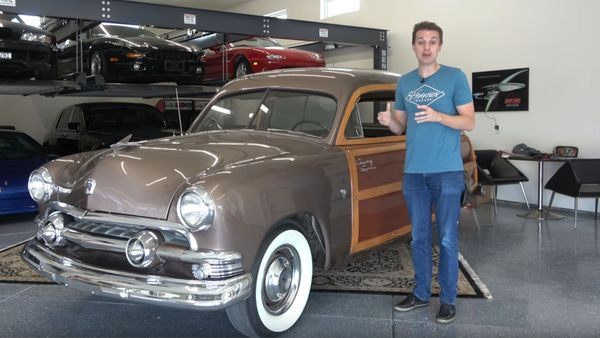 Tyler Hoover Buys A 1951 Ford Country Squire Woodie