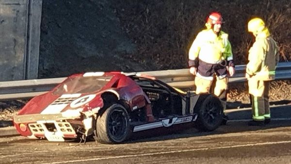 New Zealand Father Wrecks Ford GT40 Showing Off