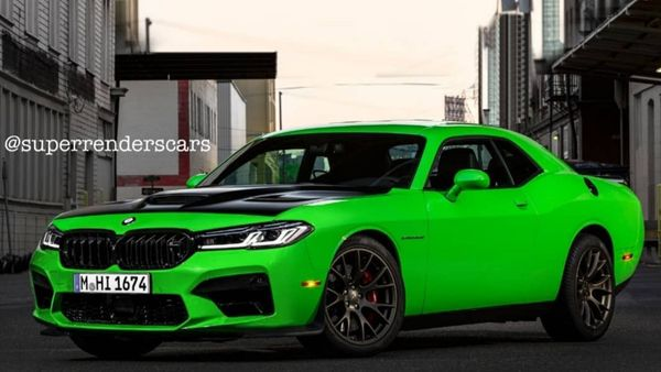 Artist Mixes The Dodge Hellcat With BMW M5 And M8