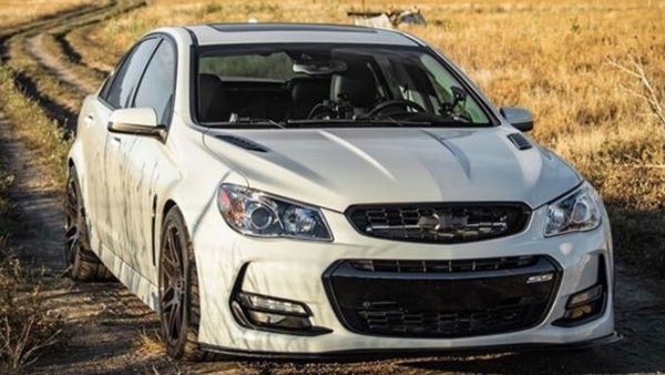 Chevy SS With An LSA Races An AMG GLE 63 S