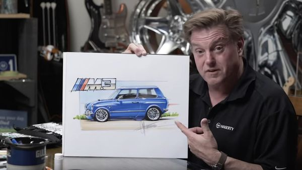 Chip Foose Gives The Classic Mini More M3 Styling