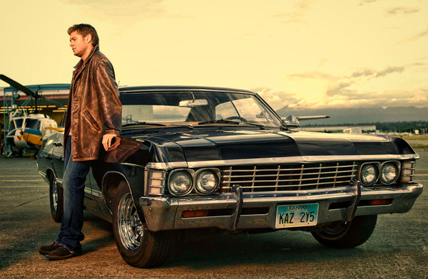 Dean's Supernatural Impala To Head Home With Jensen Ackles