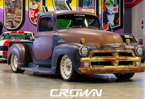 Low-Mileage Restomod Is An Unusual Patina Show Truck