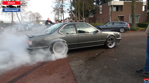 Boosted BMW 635 CSi Gives A Big Serving Of Oversteer