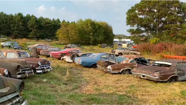 Chevy Graveyard Has Rotting Classics As Far As The Eye Can See