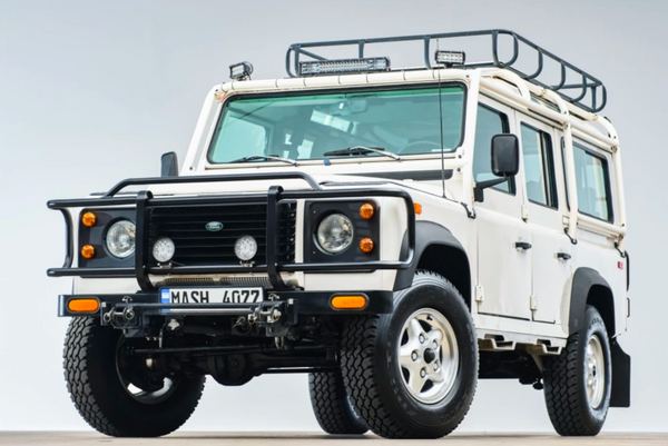 Low-Production 1993 Land Rover Defender 110 NAS Up For Grabs
