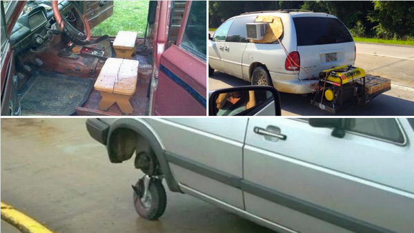 What The Fabricated? Worst DIY Car Modifications