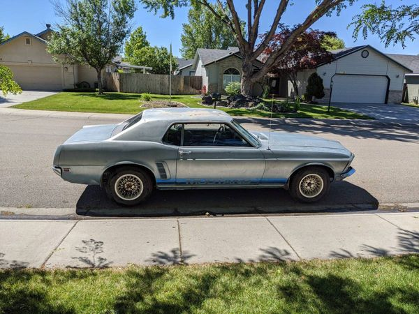 Barn Find Rescue: 1969 Mustang Coupe
