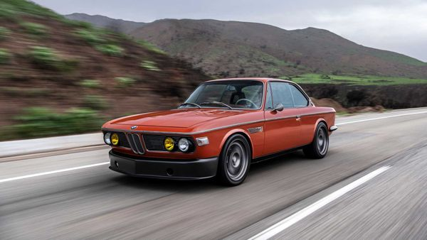 Robert Downey Jr.'s SpeedKore-Built 1974 BMW 3.0 CS