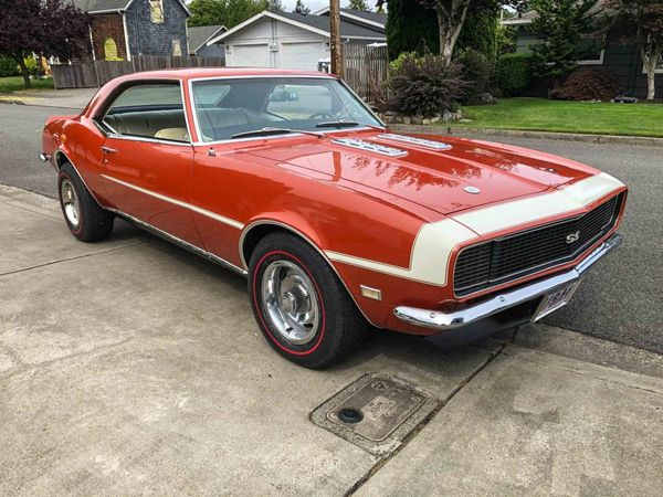 Numbers Matching, Fully Loaded: 1968 Chevrolet Camaro RS/SS