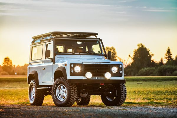 Off-Road Icon: Rare US-Market Land Rover Defender