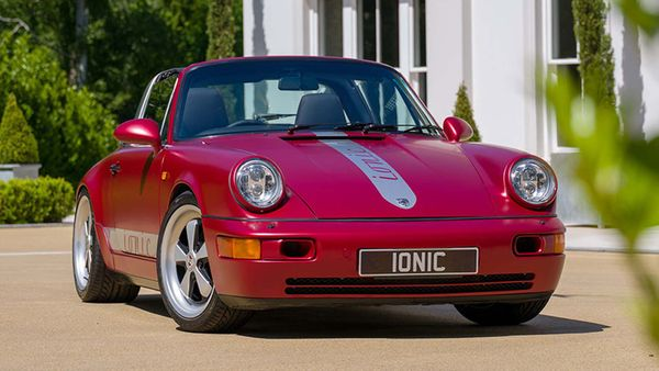 Ionic Cars Gives 964 Porsche 911 Targa The Electric Treatment