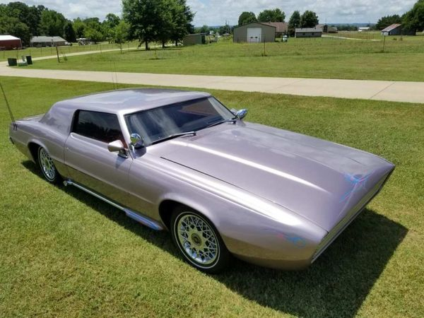 Pretty in Pink: Custom 1969 Thunderbird
