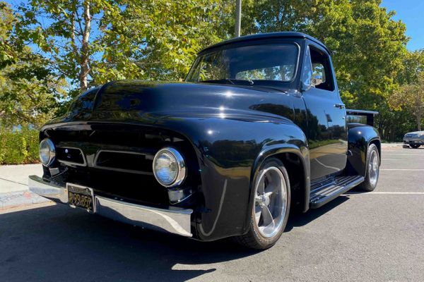 Freshly Built 1954 Ford F100 Restomod Is Show Ready