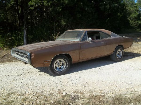 1970 Dodge Charger 500 Project Car Barn Find Sells For Bargain