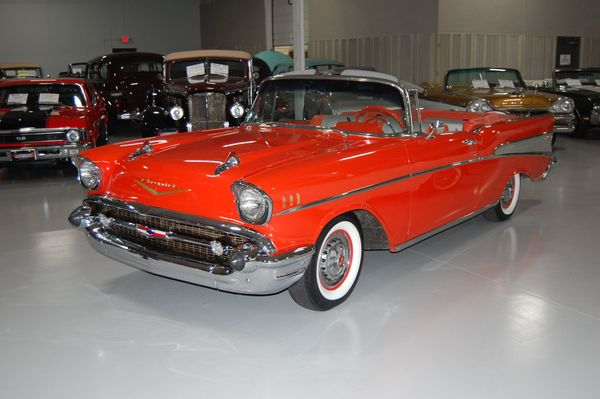 American Icon: 1957 Chevrolet Bel Air Convertible