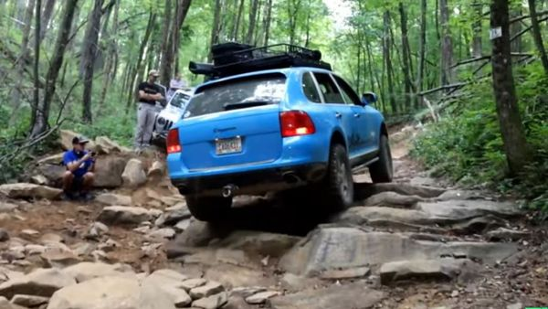 Is A Porsche Cayenne The Ultimate Off-Roader?