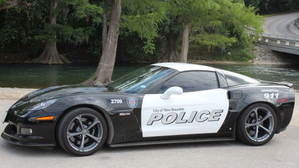 Texas Police Department Rolls Hard With 1000-HP Corvette