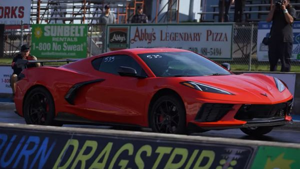 Modified 2020 C8 Corvette Does A 9-Second Quarter Mile