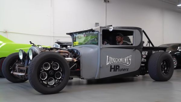 Lunch Money Is A 1000-HP Dodge Drag Truck