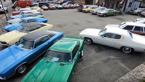 Small Tennessee Dealer Shows Off Impressive Classic Muscle Cars