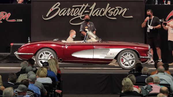Barrett-Jackson Scottsdale Fall Auction Deemed A Success