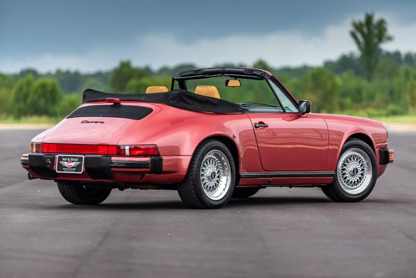 Pretty in Pink: 1989 Porsche 911 Carrera Cabriolet