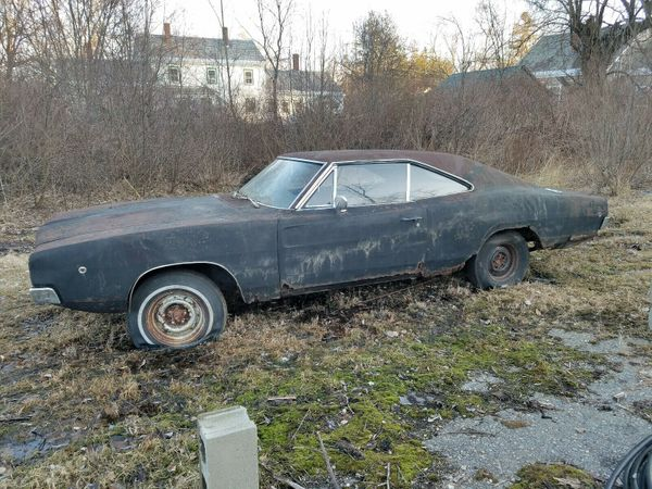 Rusty Project '68 Charger Tells a Story