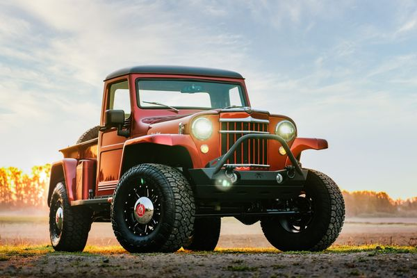 Classic Body, Modern Performance: 1955 Willys Pickup