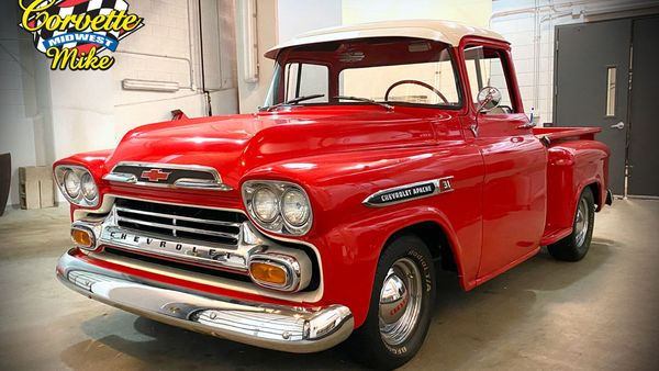 1959 Chevy Apache Step Side Lets You Roll In Style