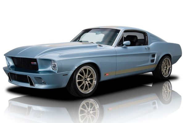 Mustang 'Flashback' Is A Supercharged 1967 Beast