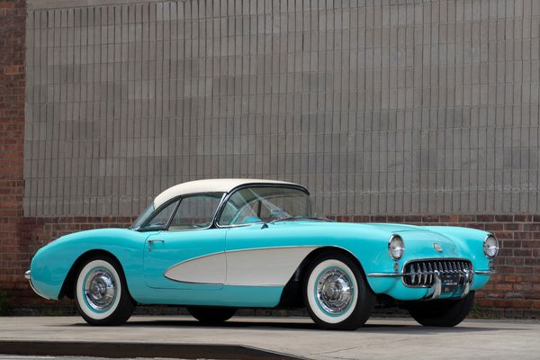 Win This Cascade Green 1956 Corvette!