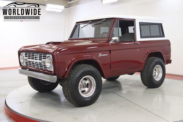Marooned in the Wilderness: 1975 Ford Bronco