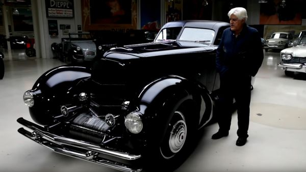 Jay Leno Shows Off The Most Expensive Duesenberg Ever