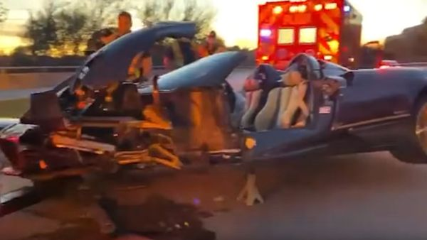 Teenage YouTube Star Wrecks Father's Pagani Huayra