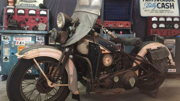 Motorcycle Monday: 1931 Harley-Davidson VL Gets Rescued