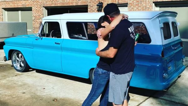 Husband Gives Wife Best Anniversary Present Possible: A Car